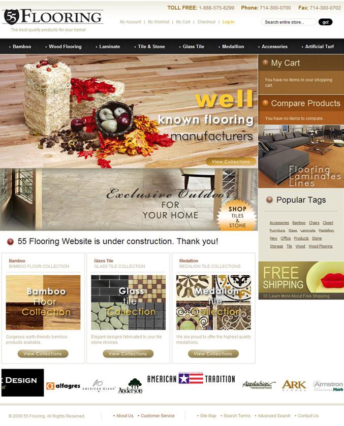 55 Flooring - Easy Websites Solutions