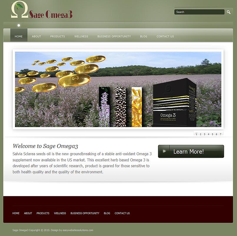 Global Omega3 - Easy Websites Solutions