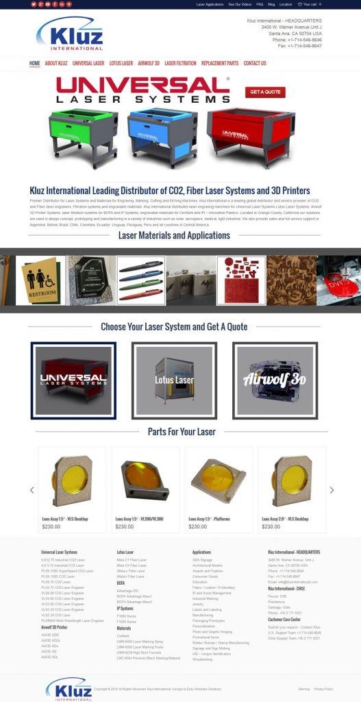 Kluz International - Easy Websites Solutions