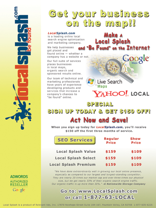 Local Splash - Easy Websites Solutions