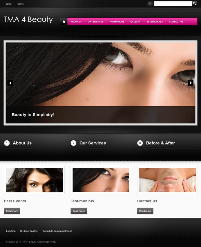 TMA 4 Beauty - Easy Websites Solutions