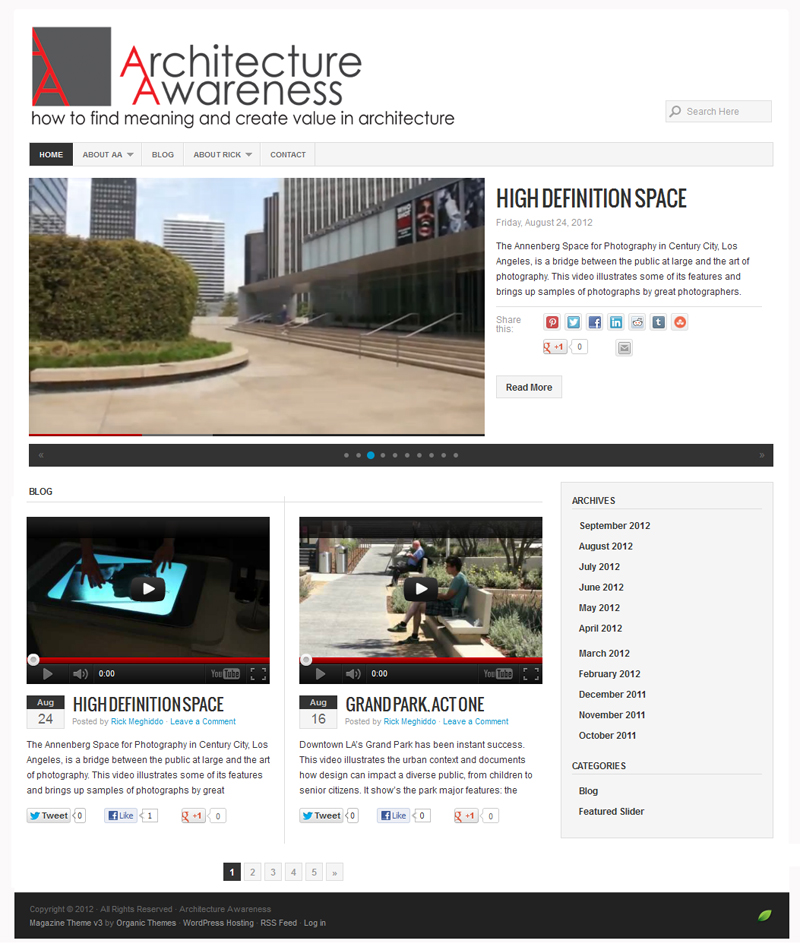 Architecture Awareness - Easy Websites Solutions