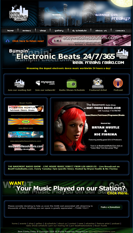 Beat Freaks Radio - Easy Websites Solutions