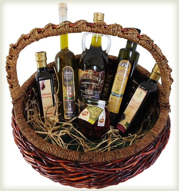 Olive Oil Basket - Easy Websites Solutions