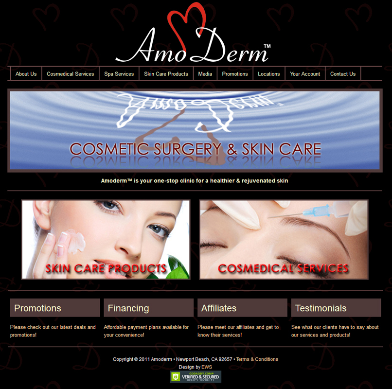 Amo Derm - Easy Websites Solutions