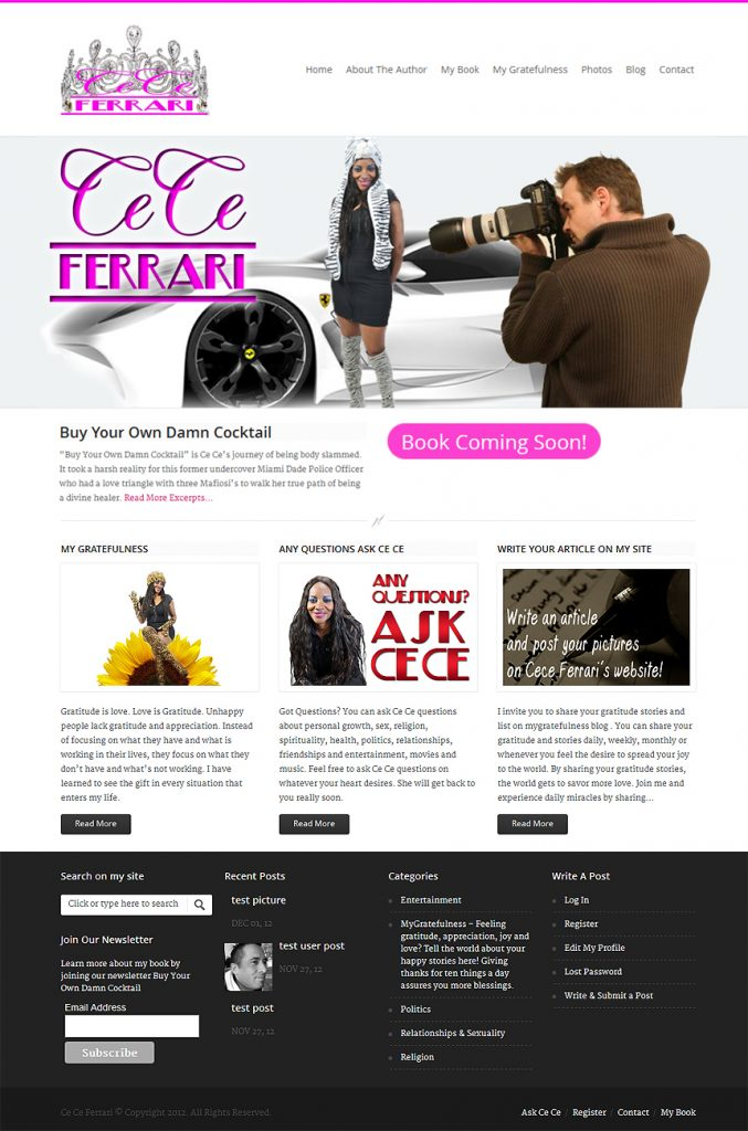 Cece Ferrari - Easy Websites Solutions