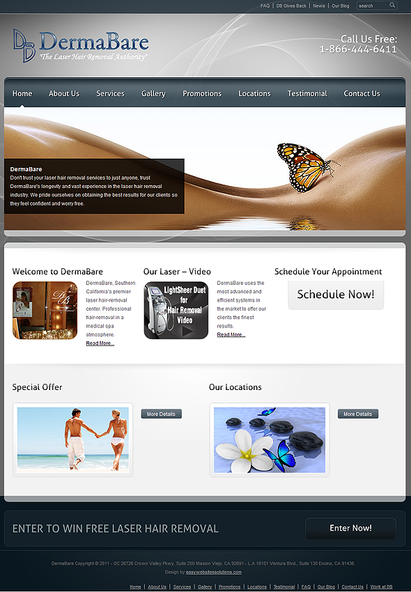 Dermabare - Easy Websites Solutions