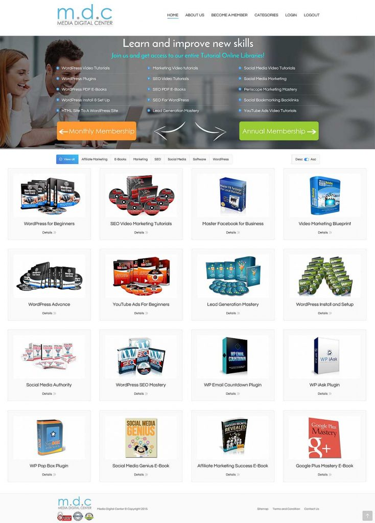 Easy Websites Solutions-Media Digital Center
