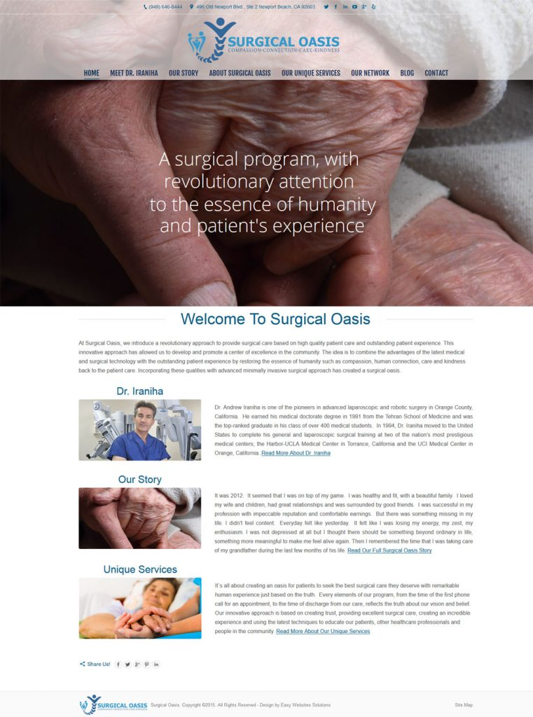 Surgical Oasis - Easy Websites Solutions
