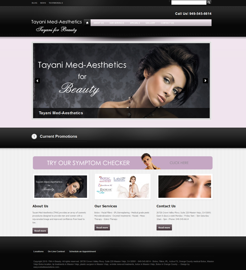 Tayany For Beauty - Easy Websites Solutions