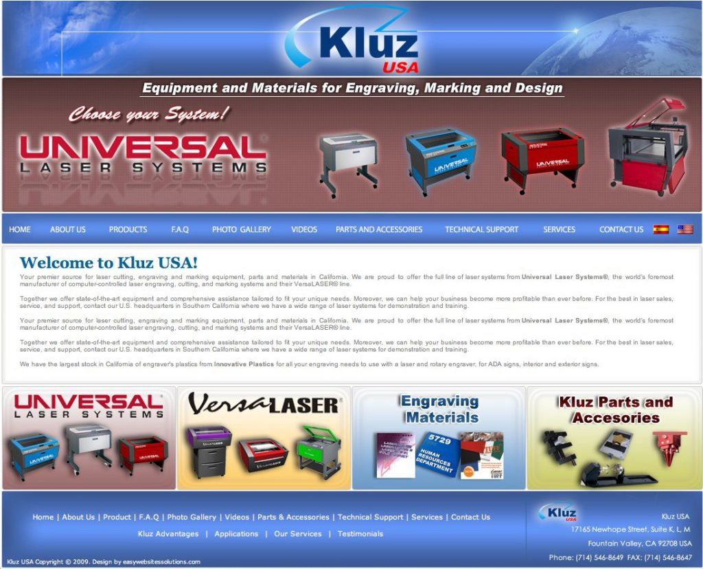 kluz International - Easy Websites Solutions
