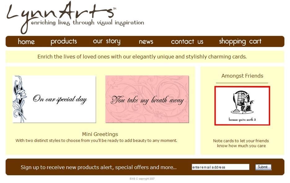 Lynnart - Easy Websites Solutions
