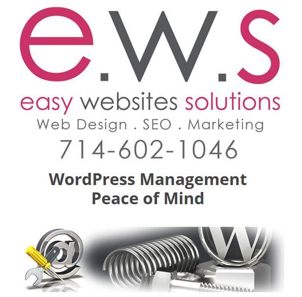 Easy Websites Solutions - WordPress Websites Updates and Maintenance - Website Maintenance